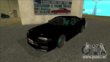 Nissan Skyline R32 Drift Monster Energy für GTA San Andreas
