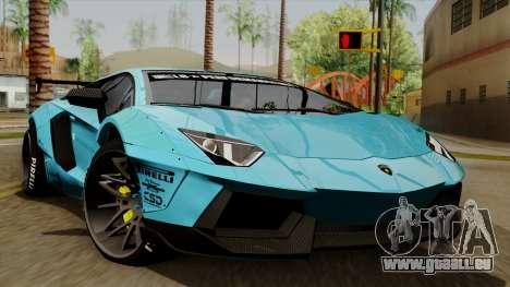 Lamborghini Aventador LB Performance pour GTA San Andreas