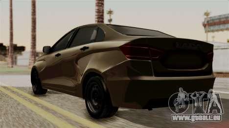 Lada Vesta für GTA San Andreas linke Ansicht