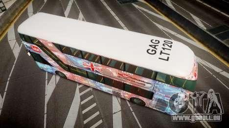 Wrightbus New Routemaster für GTA 4 rechte Ansicht