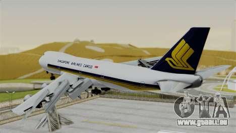 Boeing 747 Singapore Cargo pour GTA San Andreas laissé vue