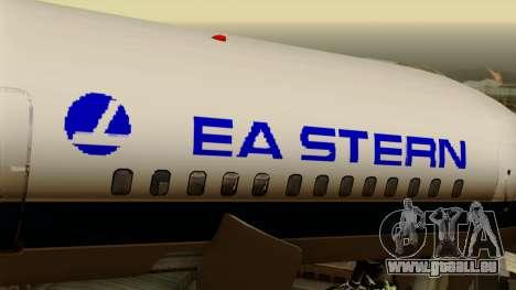Boeing 757-200 Eastern Air Lines pour GTA San Andreas vue arrière