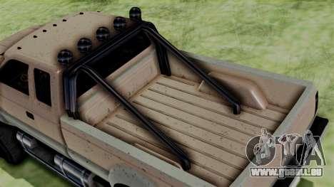 GTA 5 Vapid Sandking für GTA San Andreas zurück linke Ansicht