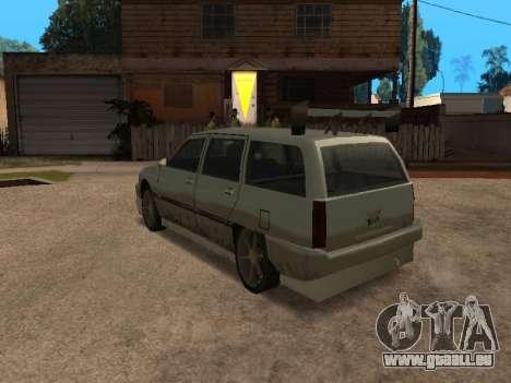 New Solair pour GTA San Andreas sur la vue arrière gauche