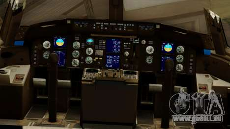 Boeing 757-200 Eastern Air Lines pour GTA San Andreas vue intérieure