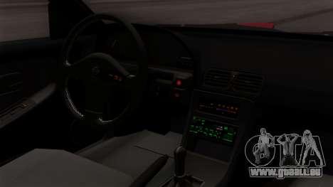 Nissan 180SX Street Golden Rims für GTA San Andreas rechten Ansicht