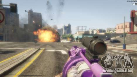 GTA 5 Anime lance-grenade cinquième capture d'écran