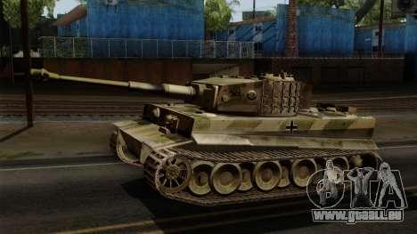 Panzerkampfwagen VI Ausf. E Tiger No Interior pour GTA San Andreas