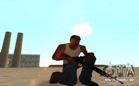 Nitro Weapon Pack pour GTA San Andreas septième écran