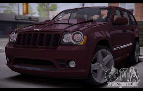 Jeep Grand Cherokee SRT8 2008 pour GTA San Andreas