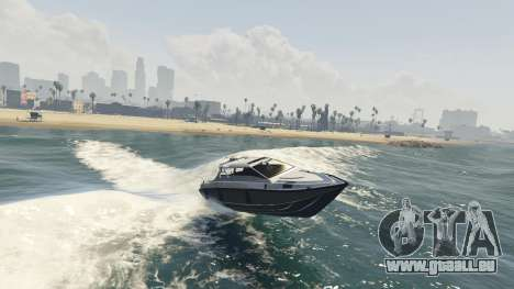 GTA 5 L'amélioration de bateau Suntrap quatrième capture d'écran