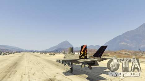 GTA 5 F-35B Lightning II (VTOL) sechster Screenshot