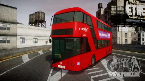 Wrightbus New Routemaster Abellio London pour GTA 4
