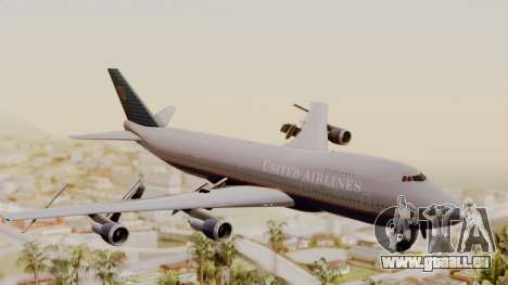 Boeing 747 United Airlines für GTA San Andreas