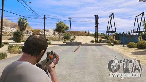 GTA 5 OTS-14 Groza de Battlefield 4 troisième capture d'écran