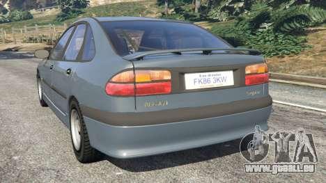 GTA 5 Renault Laguna I Phase II hinten links Seitenansicht