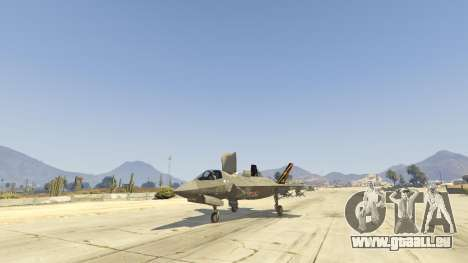 GTA 5 F-35B Lightning II (VTOL) dritten Screenshot