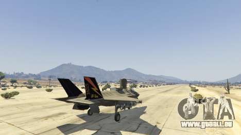 GTA 5 F-35B Lightning II (VTOL) fünfter Screenshot