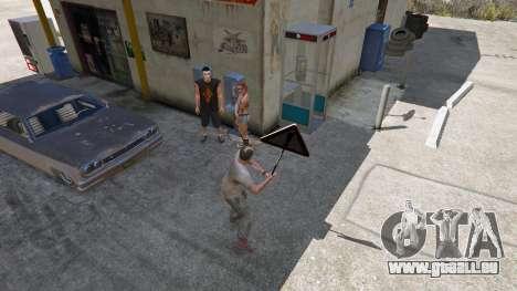 GTA 5 Panneau routier quatrième capture d'écran