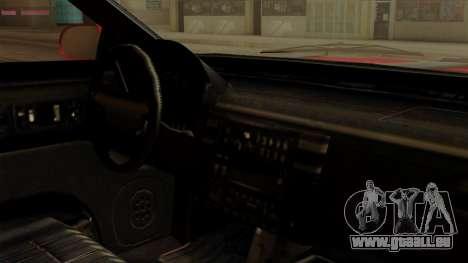 GTA 5 Vapid Stanier II für GTA San Andreas zurück linke Ansicht