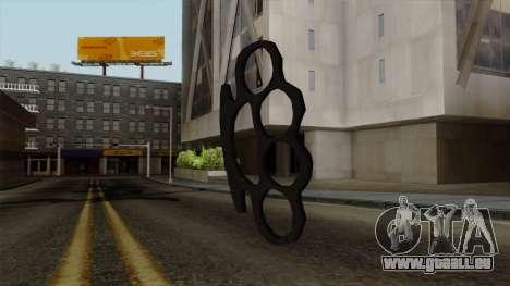 Neue brass knuckles für GTA San Andreas