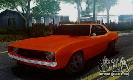 Chevy Camaro 69 für GTA San Andreas