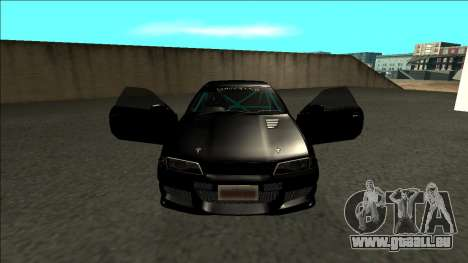 Nissan Skyline R32 Drift Monster Energy für GTA San Andreas Innenansicht