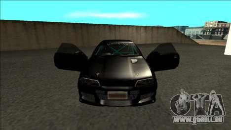 Nissan Skyline R32 Drift Monster Energy pour GTA San Andreas vue intérieure