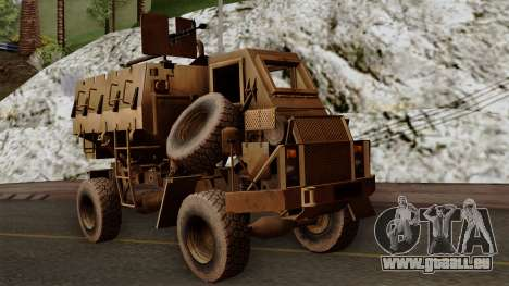 MRAP Buffel from CoD Black Ops 2 pour GTA San Andreas