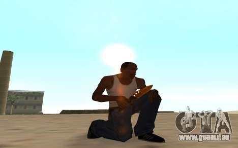 Nitro Weapon Pack pour GTA San Andreas cinquième écran