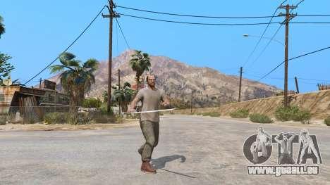 GTA 5 Katana deuxième capture d'écran