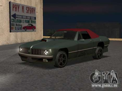New Stallion für GTA San Andreas