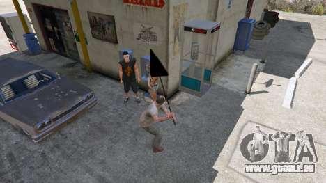 GTA 5 Panneau routier cinquième capture d'écran
