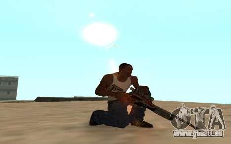Asiimov Weapon Pack v2 für GTA San Andreas fünften Screenshot