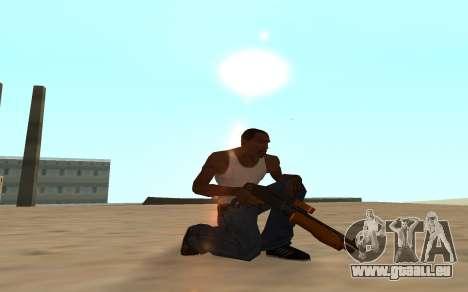 Nitro Weapon Pack pour GTA San Andreas huitième écran