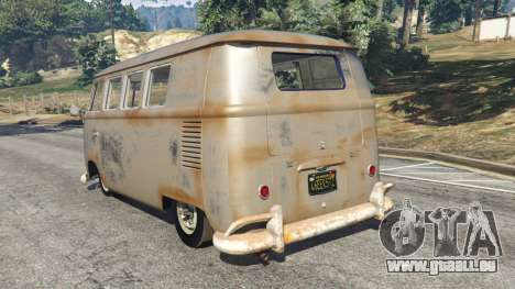 Volkswagen Transporter 1960 rusty [Beta] für GTA 5
