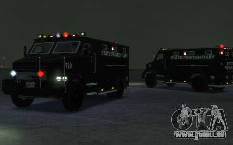 International 4000-Series SWAT Van für GTA 4 linke Ansicht