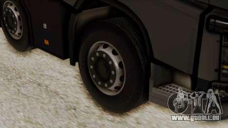Volvo FH Euro 6 10x4 Low Cab pour GTA San Andreas sur la vue arrière gauche