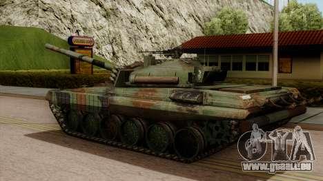 PT-91A Twardy pour GTA San Andreas laissé vue
