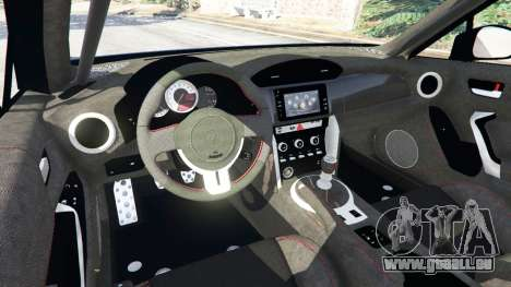 GTA 5 Toyota GT-86 v1.3 droite vue latérale