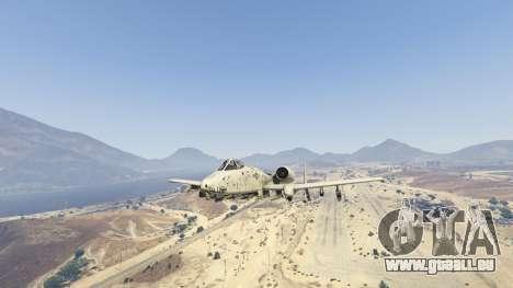 GTA 5 A-10A Thunderbolt II 1.1 septième capture d'écran