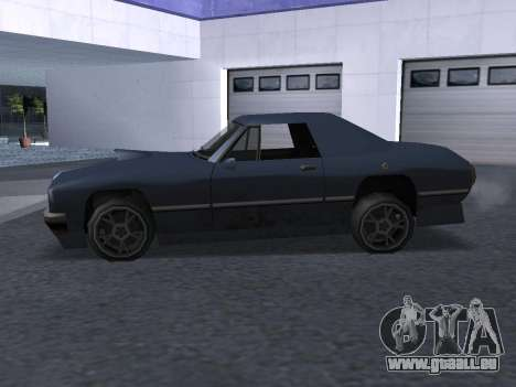 New Stallion für GTA San Andreas obere Ansicht