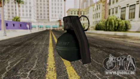 Frag Grenade from Delta Force pour GTA San Andreas