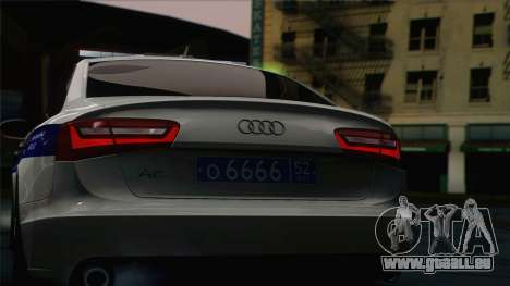 Audi A6 DPS pour GTA San Andreas vue de droite