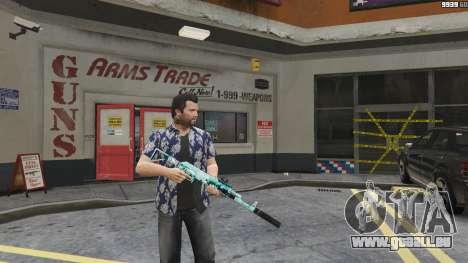 Fusil d'assaut de l'Anime pour GTA 5
