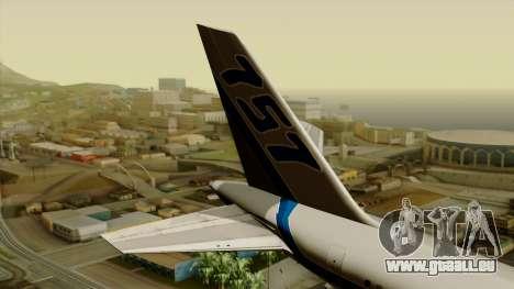 Boeing 757-200 Eastern Air Lines pour GTA San Andreas sur la vue arrière gauche