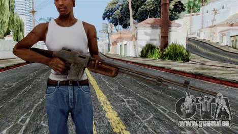 BAR 1918 from Battlefield 1942 für GTA San Andreas dritten Screenshot