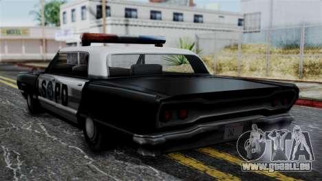 Police Savanna 2.0 pour GTA San Andreas laissé vue