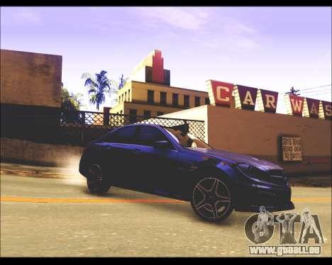 REXAS ENB v1 pour GTA San Andreas quatrième écran