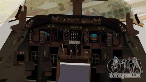 Boeing 747-200 China Airlines Dreamliner pour GTA San Andreas vue arrière